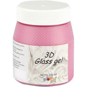 Τζελ Γυαλιού, 3D Glass Gel Πράσινο 250 ml