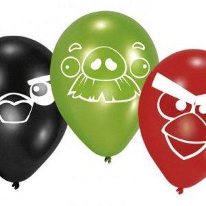 Μπαλόνια Angry Birds 6τεμ.