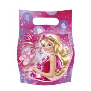 Τσάντες για δωράκια Barbie Pink Shoes 6τεμ.