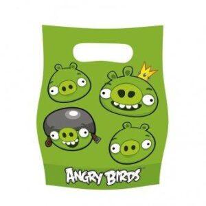Τσάντες δώρων Angry Birds 6τεμ.