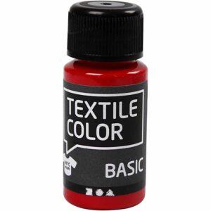 Χρώμα Υφάσματος Ροζ Basic Color 50ml 1τεμ.