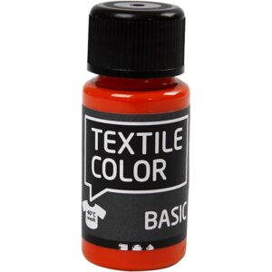 Χρώμα Υφάσματος Μαύρο Basic Color 50ml 1τεμ.