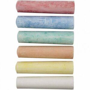 Χρωματιστές Κιμωλίες 6τεμ.