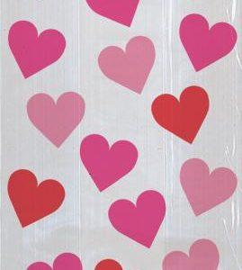 Σακούλες νάυλον 13x29εκ. Key to your Heart 20τεμ.
