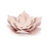 Χάρτινα Συναρμολογούμενα Λουλούδια Ροζ Παστέλ 3τεμ.