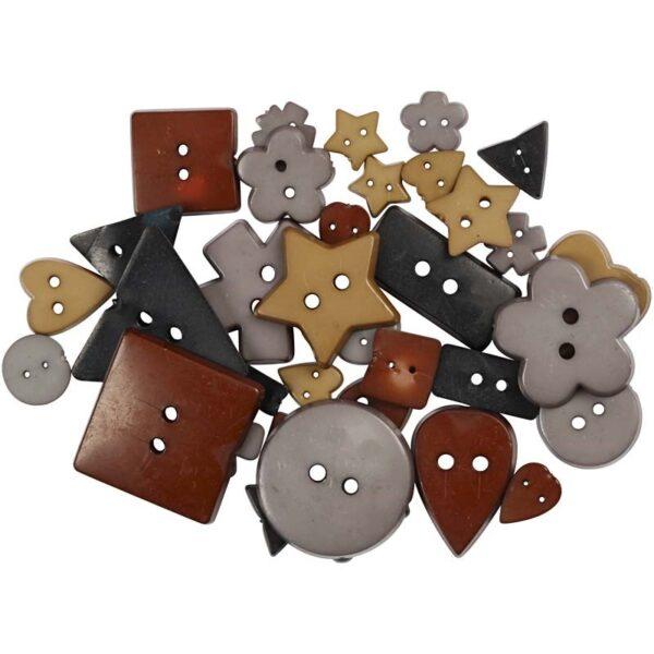 Ξύλινοι Δίσκοι 25x25x5 cm, 30x30x6 cm 2τεμ.