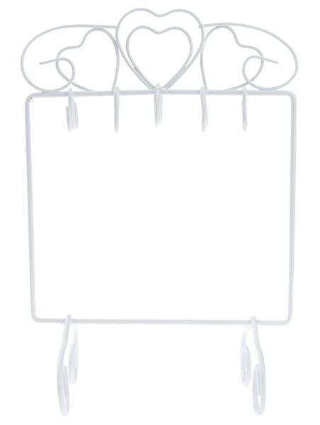 Μεταλλικό stand 10 θέσεων, Λευκό
