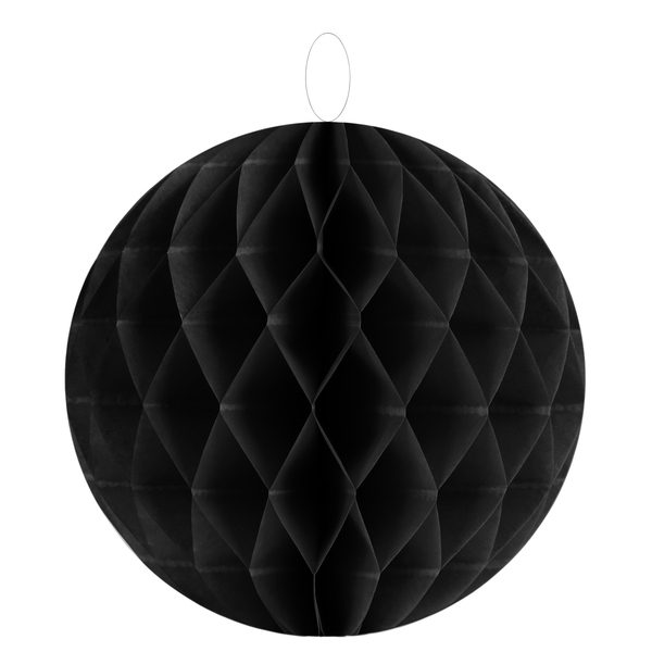 Honeycomb Μαύρα 30εκ. 1τεμ.