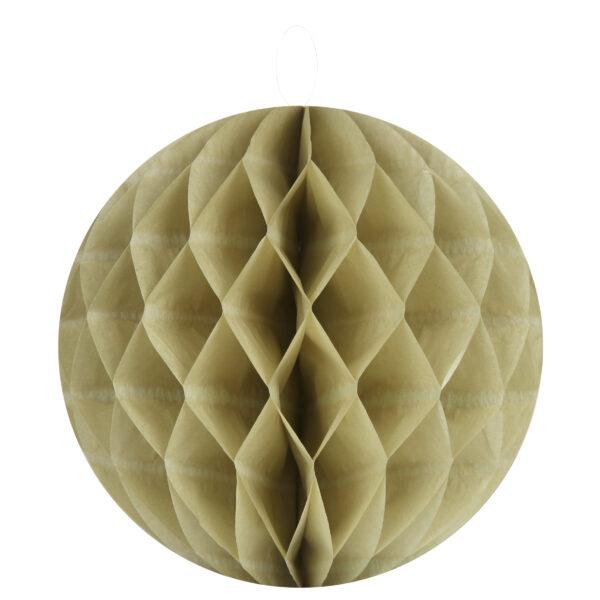 Honeycomb Χρυσό 30εκ. 1τεμ.