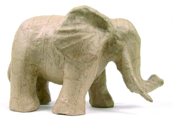 Ελέφαντας papier mache 12x21x17εκ