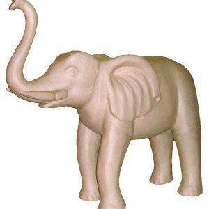 Ελέφαντας γίγας papier mache 40x100x100εκ