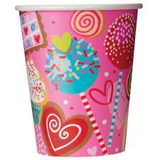 Ποτήρια Sweet Valentine 270ml 8τεμ.