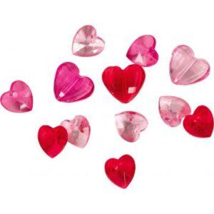 Κονφετί καρδιές 3D