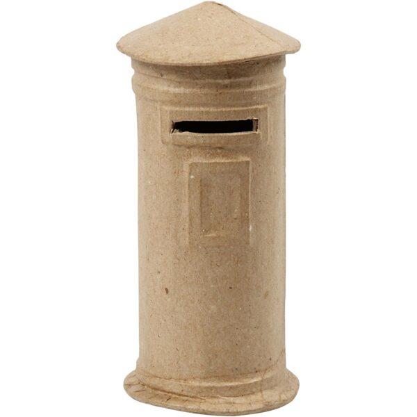 Κουμπαράς mailbox Papier Mache 15x6,5mm 1τεμ.