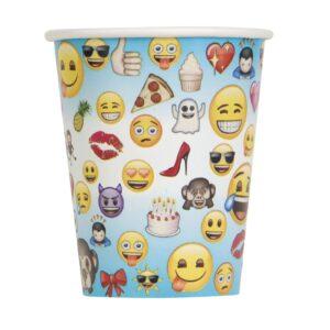 Ποτήρια 270ml emoji (8τεμ.)