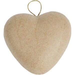 Καρδιά Papier Mache 1τεμ.