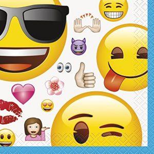 Χαρτοπετσέτες γλυκού 2φυλλες emoji 25x25εκ. (16τεμ.)