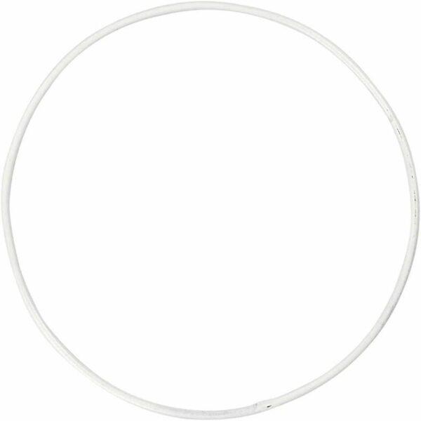 Μεταλλικό Κρεμαστό Στεφάνι Διάμετρος 10cm 10τεμ