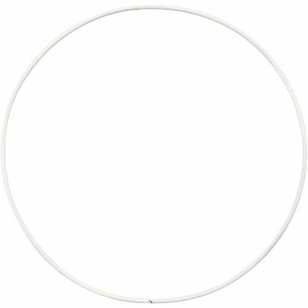Μεταλλικό Κρεμαστό Στεφάνι Διάμετρος 15cm 10τεμ