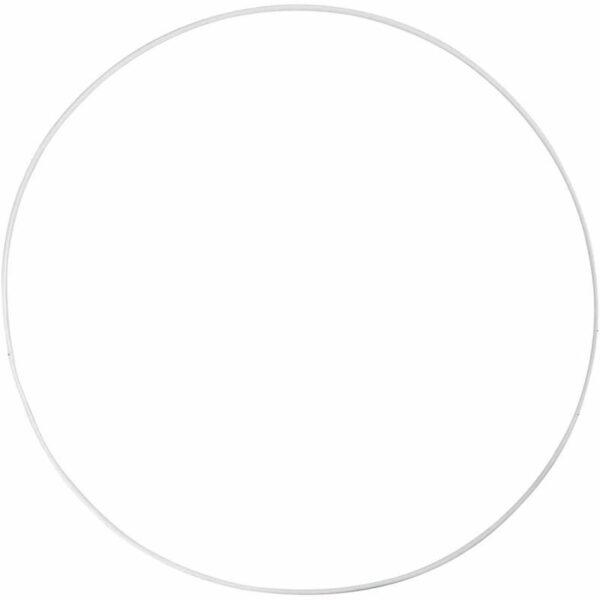 Μεταλλικό Κρεμαστό Στεφάνι Διάμετρος 30cm 5τεμ