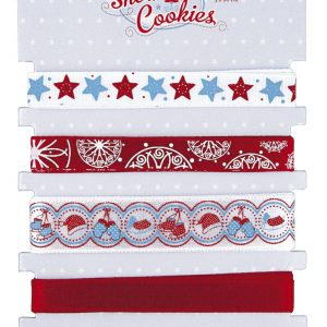 Tante Ema κορδέλες snow cookies σετ 5τεμ. 90εκ. σε διάφορα σχέδια