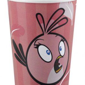 Ποτήρια 266ml Angry Birds ροζ 8τεμ.