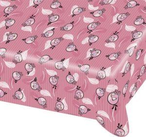 Τραπεζομάντηλο Angry Birds ροζ 1,80x1,20m