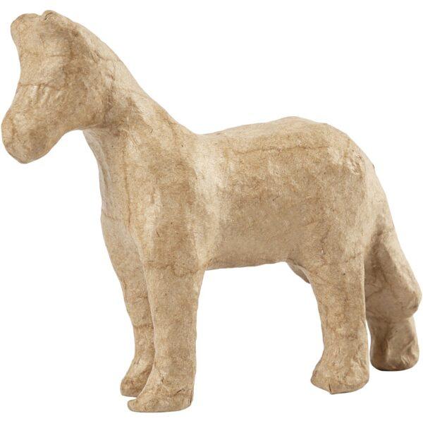 Άλογο Papier Mache 9,5εκ. 1τεμ.