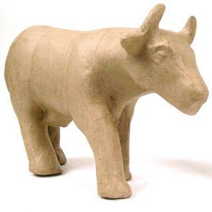 Αγελάδα papier mache 19x31x10εκ