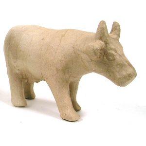 Αγελάδα papier mache 8x21x14εκ