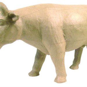 Αγελάδα γίγας papier mache 36x100x123εκ