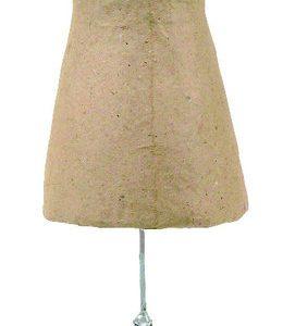 Γυναικείο σώμα με βάση papier mache 7x10x34εκ