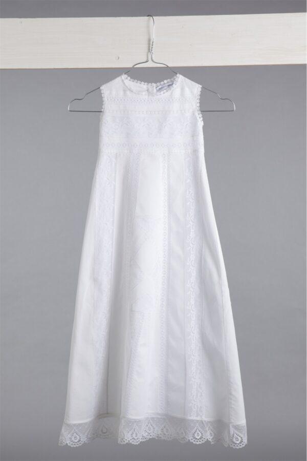 """Φόρεμα βάπτισης """"ΚΡΥΣΤΑΛΙΑ"""""""