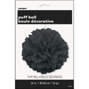 Fluffy Διακοσμητικό Μαύρο 40.6cm 1τεμ.