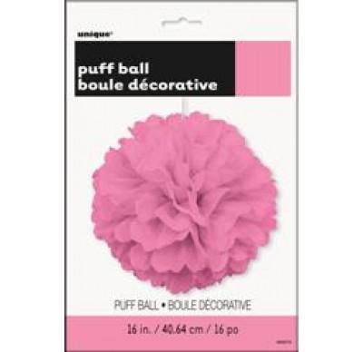 Fluffy Διακοσμητικό Ροζ 40.6cm 1τεμ.