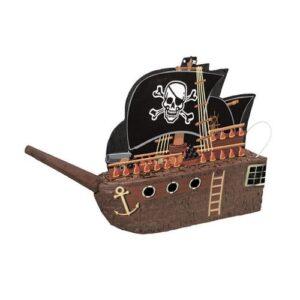Πινιάτα Πειρατικό Καράβι Μαύρο 45x66εκ.