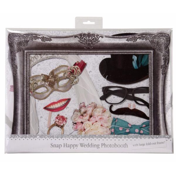 Photobooth με wedding props