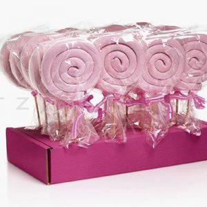 Mallow σπιράλ ροζ 1τεμ.