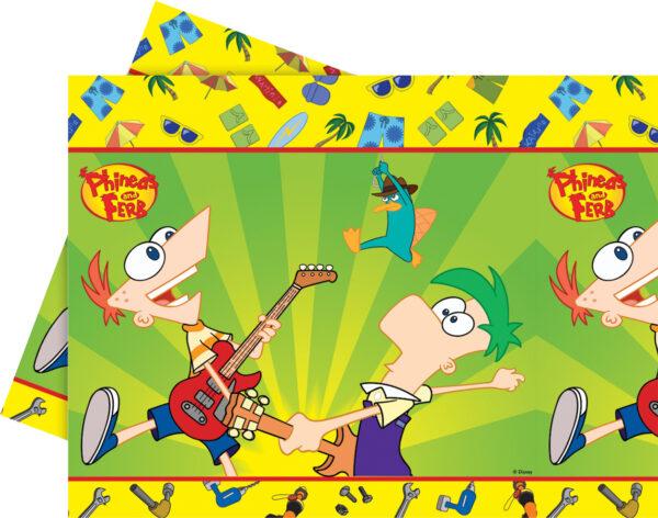 Τραπεζομάντηλο 120x180εκ. Phineas & Ferb