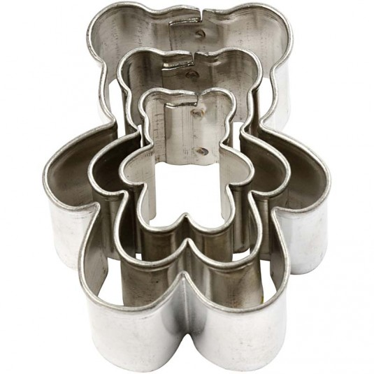 Cookie Cutters Αρκουδάκια 3τεμ.