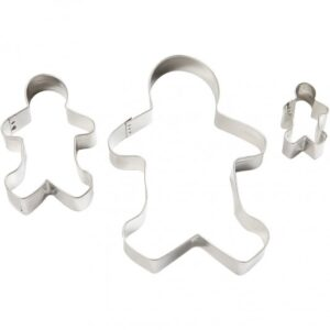 "Cookie Cutters ""Gingerbread Man"" 3τεμ."