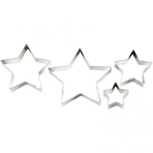 "Cookie Cutters ""Star"" 3τεμ."