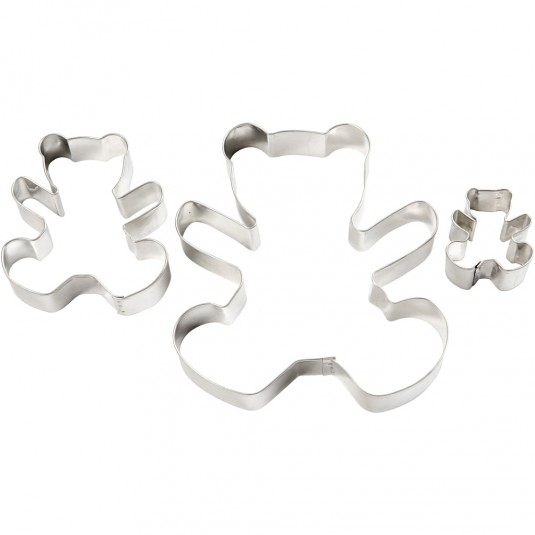 "Cookie Cutters ""Bear"" 3τεμ."