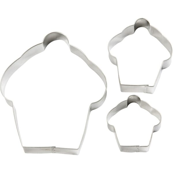 Cookie Cutters Cupckes, 3τεμ.