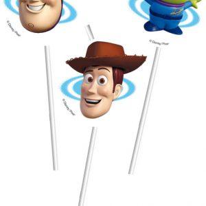 Καλαμάκια Toy Story STAR POWER 6τεμ.