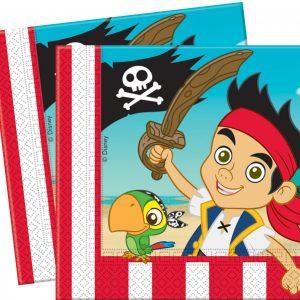 Χαρτοπετσέτες 33x33 εκ. DISNEY Τζέικ & Πειρατές