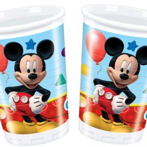 Ποτήρια 200ml Playful Mickey 8τεμ.