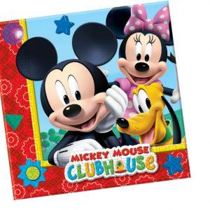 Χαρτοπετσέτες 33x33εκ. Playful Mickey 20τεμ.