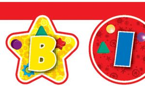 Banner Happy Birthday με κοπτικό Playful Mickey 2,1μ.