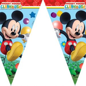 Τρίγωνες γιρλάντες Playful Mickey 2,3μ.